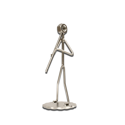 Clarinet - Metal Figure