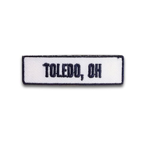 Toledo, OH Rocker Patch