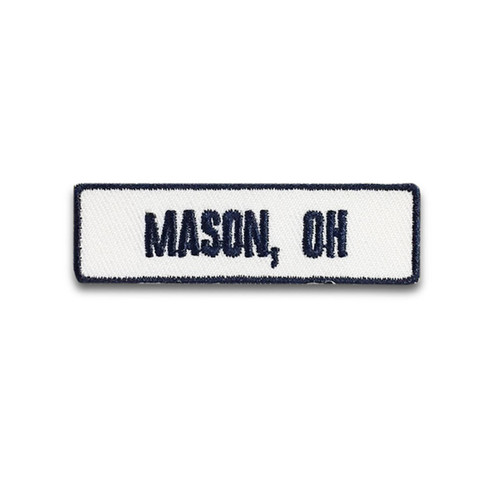 Mason, OH Rocker Patch
