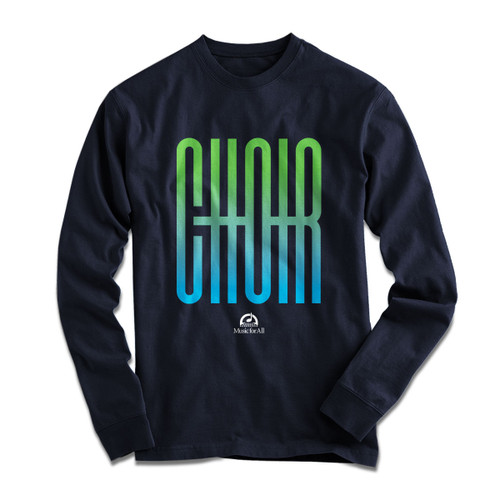 MFA Choir Navy L/S
