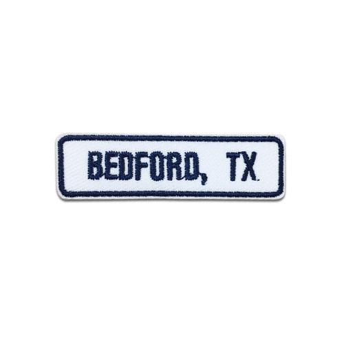 Bedford, TX Rocker Patch
