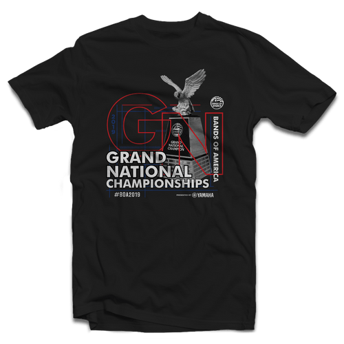 2019 BOA Grand Nationals Black T-Shirt