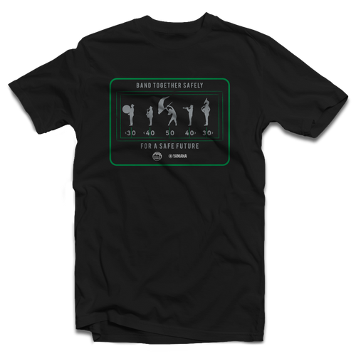 Limited Edition: Band Together Safely T-Shirt
