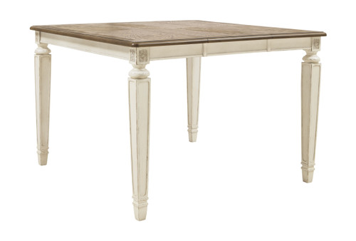 Realyn Two-tone Square  Counter Extension Table