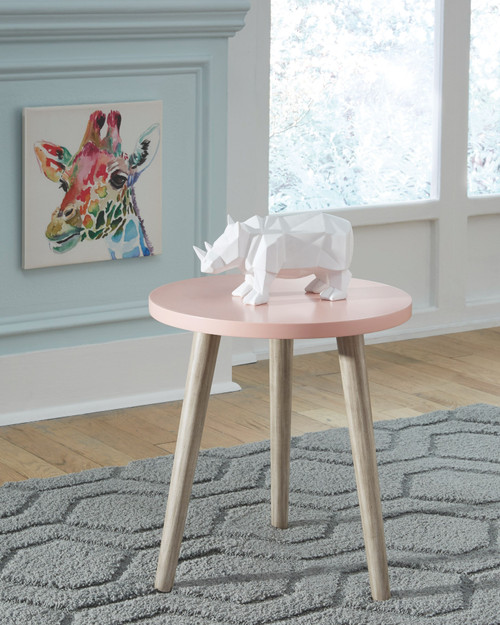 Fullersen Pink Accent Table