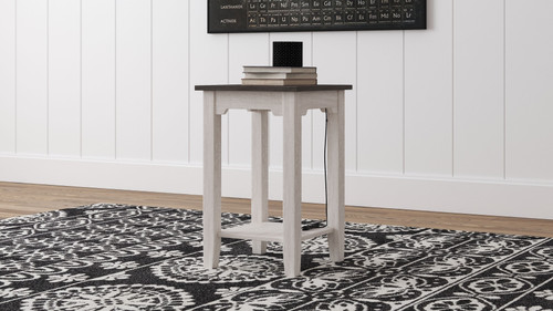 Dorrinson Two-tone Chair Side End Table