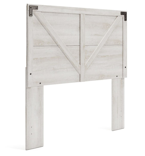 Shawburn Whitewash Full Panel Headboard