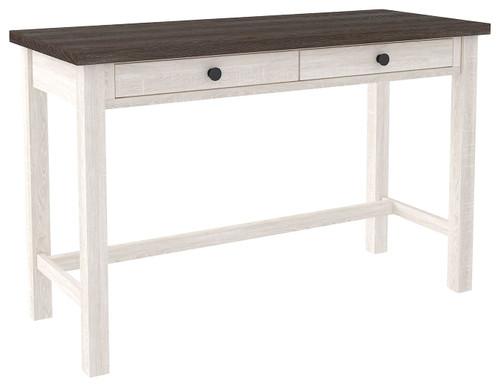 Dorrinson White / Black / Gray Home Office Desk