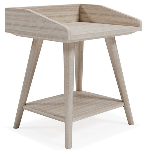 Blariden Light Tan Accent Table