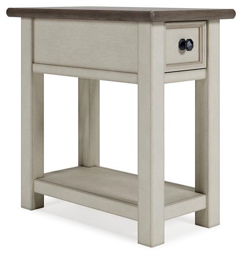 Bolanburg White / Brown / Beige Chair Side End Table