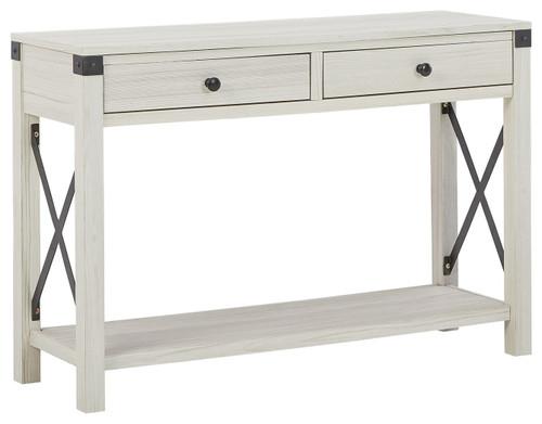 Bayflynn Whitewash Console Sofa Table