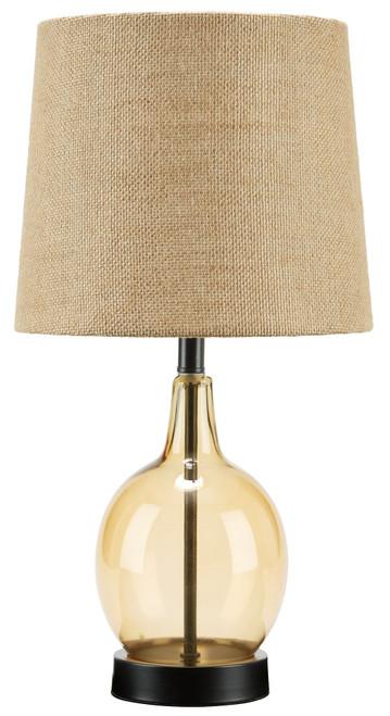 Arlomore Amber Glass Table Lamp (1/CN)