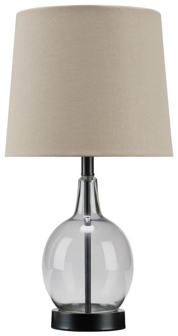 Arlomore Gray Glass Table Lamp (1/CN)