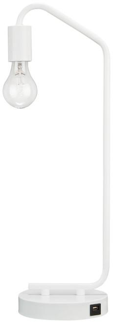 Covybend White Metal Desk Lamp (1/CN)