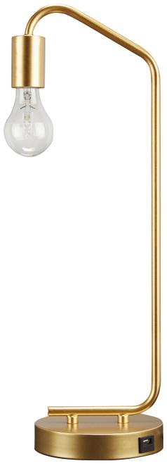 Covybend Gold Metal Desk Lamp (1/CN)