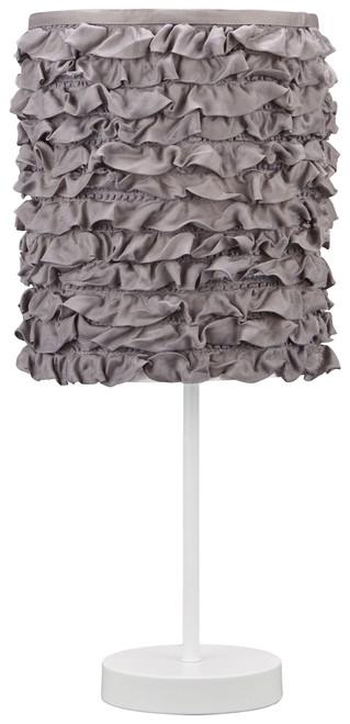 Mirette Gray/White Metal Table Lamp (1/CN)