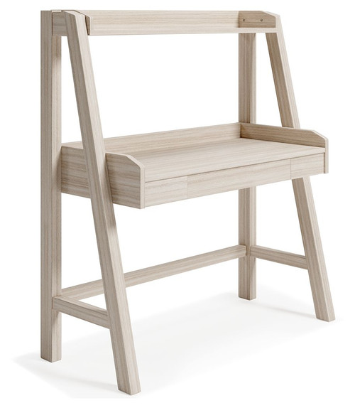 Blariden Natural Desk w/Hutch