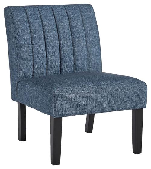 Hughleigh Navy Accent Chair