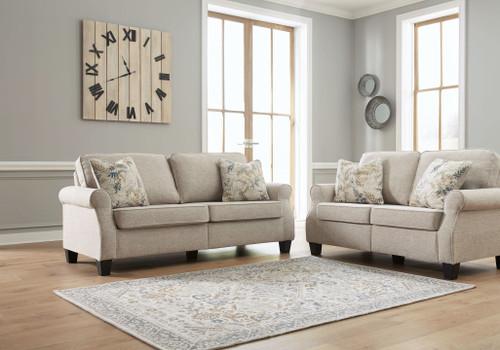 Alessio Beige 2 Pc. Sofa, Loveseat