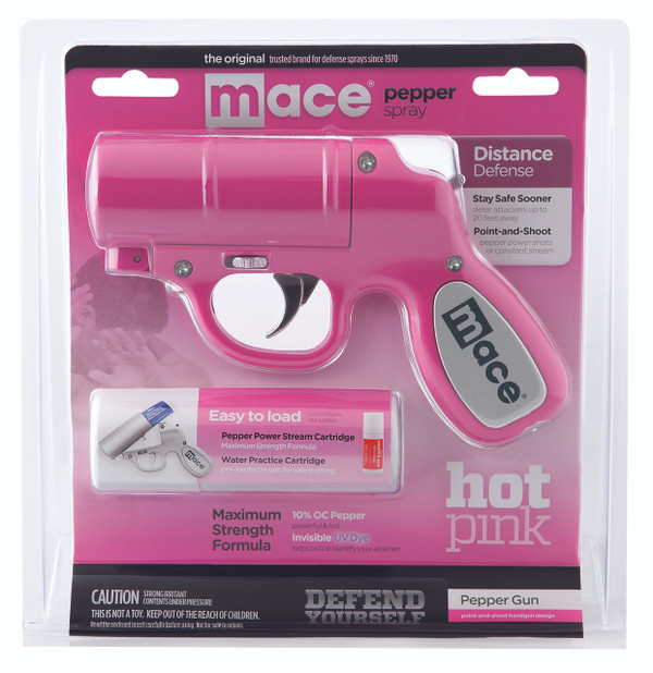 Hot Pink Mace Pepper Gun