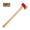 COUNCIL TOOL Dayton Single 36in Curved Handle 3.5lb Bit Axe (35DR36C)