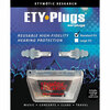 ETYMOTIC RESEARCH ETY Plug Standard Clear Frost Earplugs (ER20-SMF)
