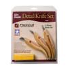 FLEXCUT Slim-Handle Detail 3-Knife Set (KN400)
