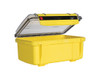 UNDERWATER KINETICS 408 UltraBox ABS Rubber Liner Clear Lid Yellow Case (508661)