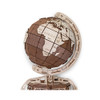 ECO WOOD ART The Globe Brown 393-Piece 3D Puzzle (THE-GLOBE-BROWN)