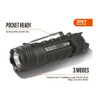 5.11 TACTICAL Rapid L1 Black Flashlight (53390-019)