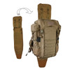 EBERLESTOCK Coyote Brown Tactical Weapon Carrier (A4SSMC)