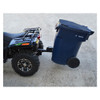 GREAT DAY Tote Caddy with 2in Receiver Trash Can Transporter (TC5000)