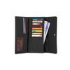 PACSAFE RFIDsafe LX200 RFID Blocking Black Clutch Wallet (10750100)