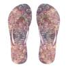 SHOWAFLOPS Womens Mermaid Multi/Pink Flip-Flops (7072)