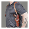 GALCO VHS Ambidextrous Leather Shoulder Holster for Glock 19 (VHS226)