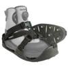 KORKERS RockTrax Black/Moonrock Medium Size Fishing Overshoe (FA5100-WEBY)