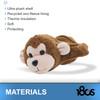 180S Youth Monkey Brown/Almond Oil Ear Warmer (41505-985-01)