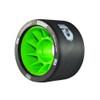 ATOM SKATES Savant 95A Black/Green Quad Skate Wheels (QWA6000.BK)