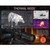 ATN Thor 4 640 1-10x Thermal Riflescope (TIWST4641A)