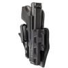 COMP-TAC eV2 Hybrid Appendix AIWB Hybrid Holster For Glock 19 (C852GL261RBKN)