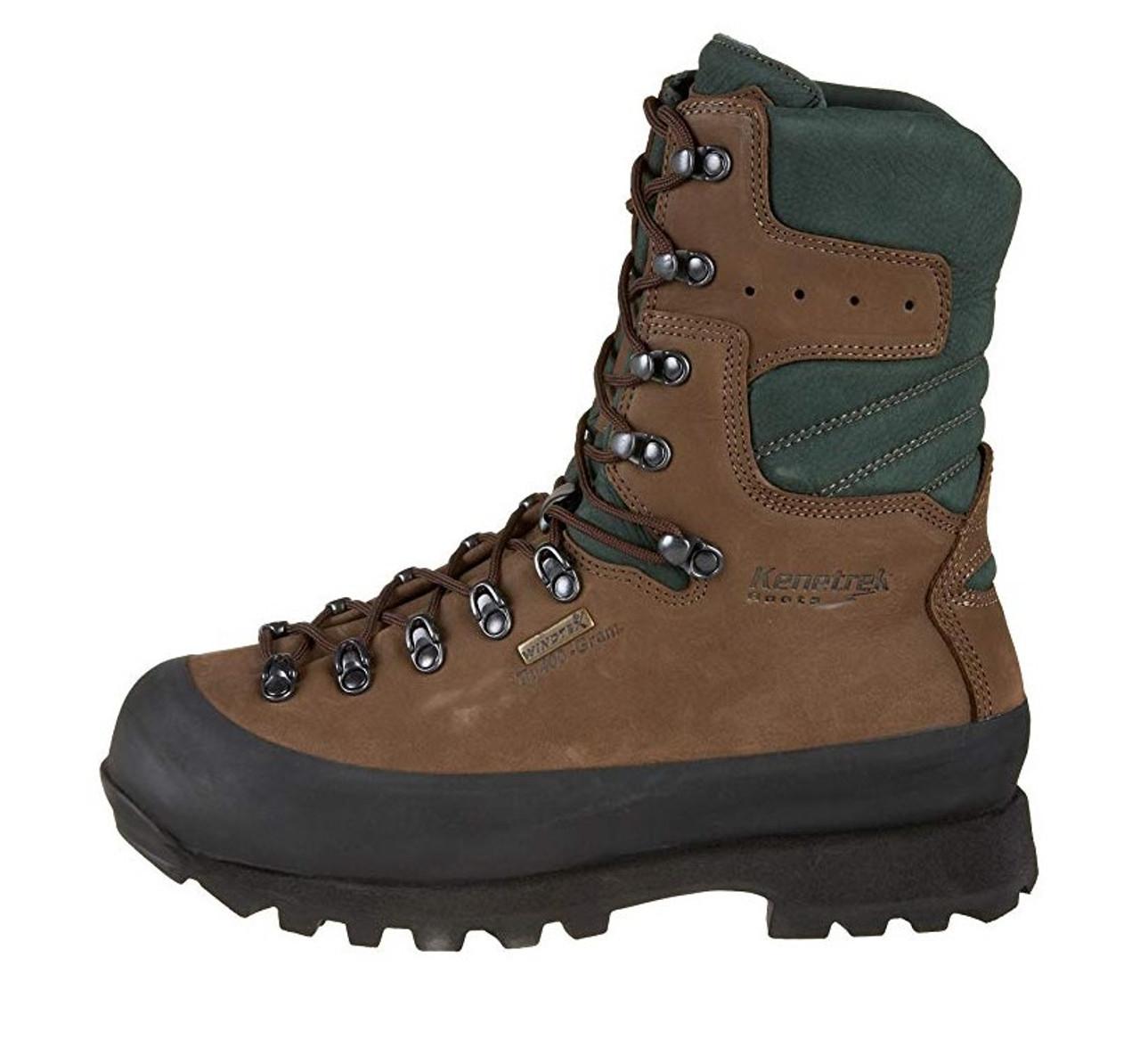 Details zu Kenetrek Mens Mountain Extreme Boots KE 420 NI Brown Leather Size 13
