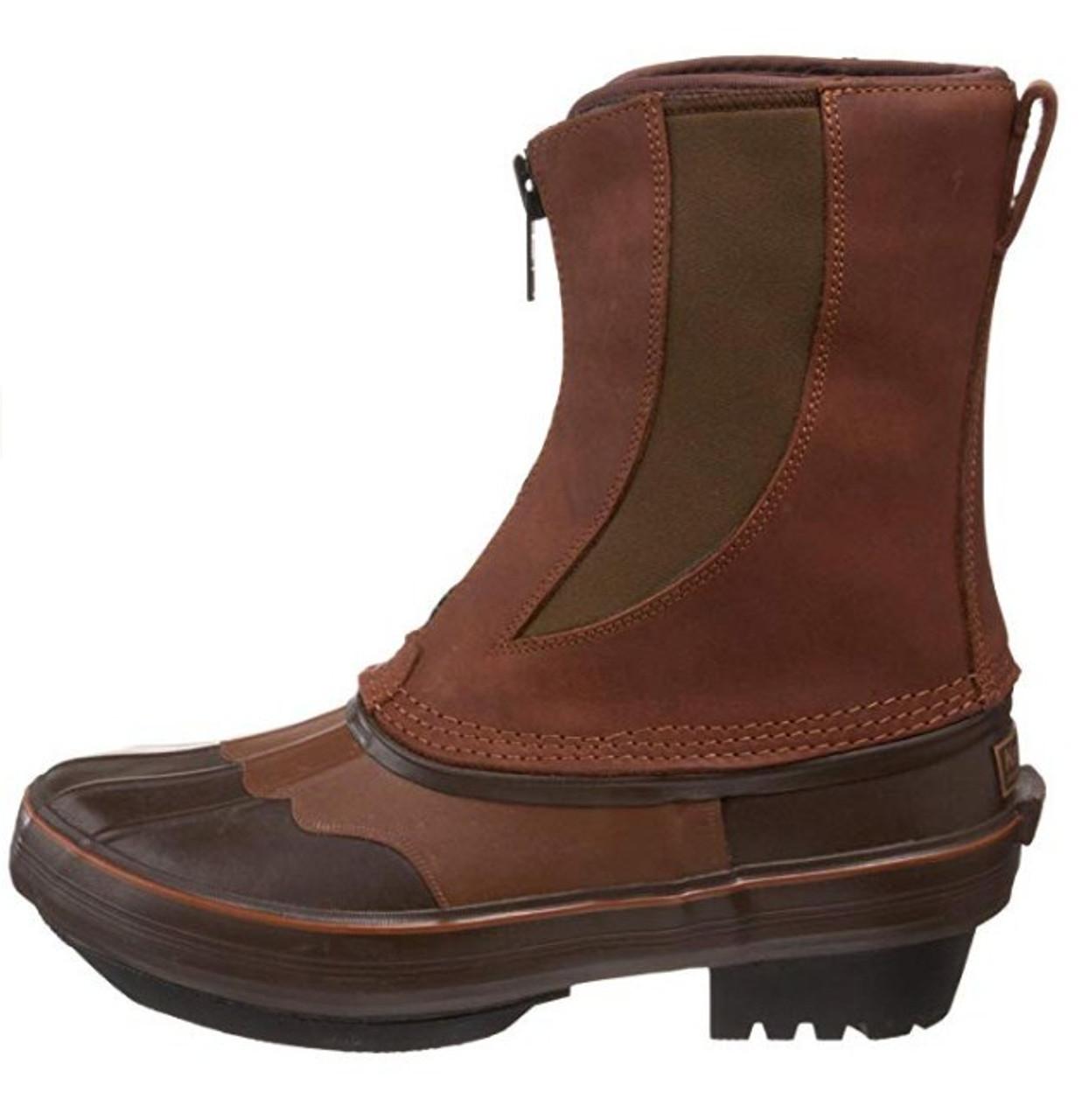 e4ebc6f9f95 KENETREK Bobcat Cowboy Zip Brown Boots (KE-SZ429-C)