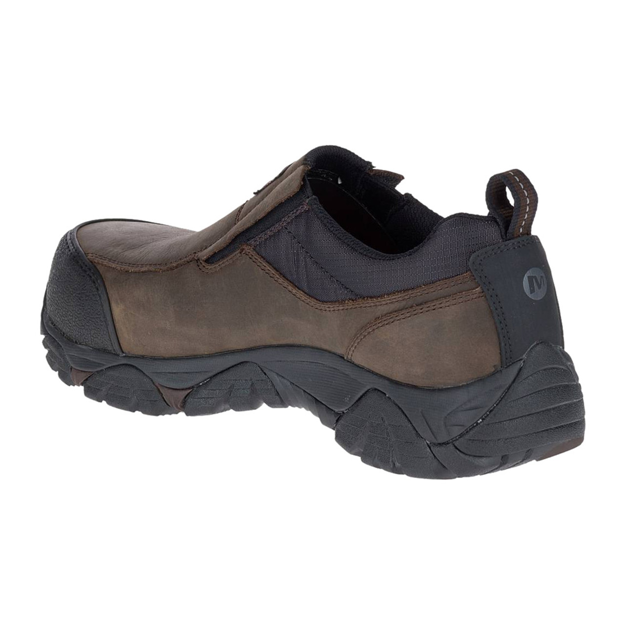 Merrell Moab Rover Leather Work Shoes Composite Safety Toe 8.5W