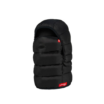 AIRHOLE Airhood Packable Insulated Black Balaclava (AHB9IN-BLK)