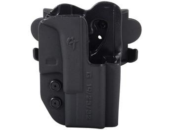 COMP-TAC International OWB Modular Mount S&W MP Shield 9mm/40 RSC Holster (C241SW146RBKN)