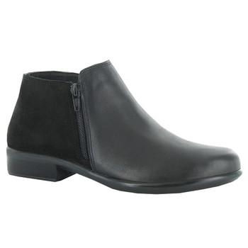 Black Raven Leather/Black Suede