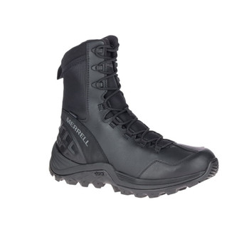 MERRELL Unisex Rogue 8in Waterproof Black Boots (J099291)