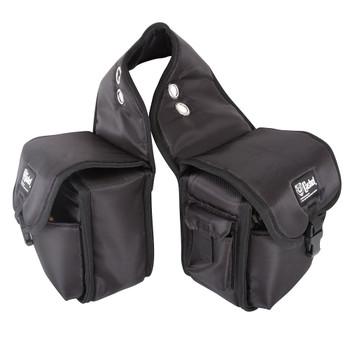 CASHEL Medium Black Rear Saddle Bag (SB-RB-M-BLA)