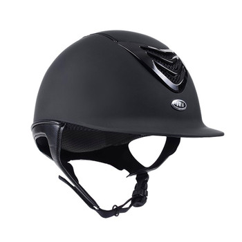 IRH IR4G Matte Black with Gloss Vent Riding Helmet (3310)