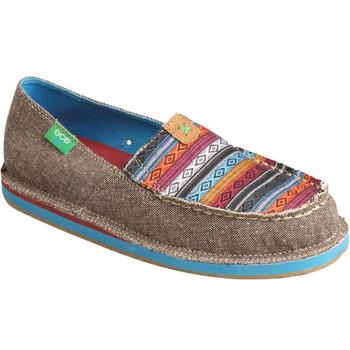 TWISTED X Women's Slip-On Dust/Multi Loafer (WCL0005)